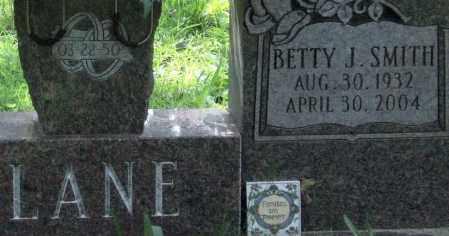 SMITH LANE, BETTY J. (CLOSE UP) - Garland County, Arkansas | BETTY J. (CLOSE UP) SMITH LANE - Arkansas Gravestone Photos