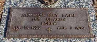 LANE (VETERAN KOR), ARTHUR RAY - Garland County, Arkansas | ARTHUR RAY LANE (VETERAN KOR) - Arkansas Gravestone Photos