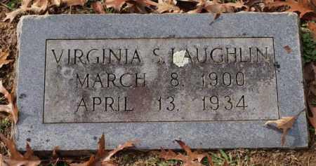 LAUGHLIN, VIRGINIA S. - Garland County, Arkansas | VIRGINIA S. LAUGHLIN - Arkansas Gravestone Photos