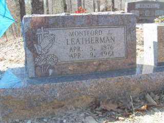 LEATHERMAN, MONTFORD J. - Garland County, Arkansas | MONTFORD J. LEATHERMAN - Arkansas Gravestone Photos