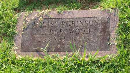 ROBINSON LEDGERWOOD, LOUISE - Garland County, Arkansas | LOUISE ROBINSON LEDGERWOOD - Arkansas Gravestone Photos