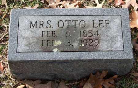 LEE, OTTO (MRS.) - Garland County, Arkansas   OTTO (MRS.) LEE - Arkansas Gravestone Photos