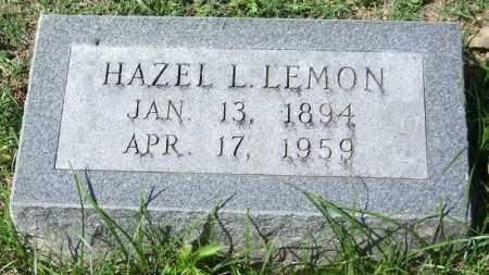 LEMON, HAZEL L. - Garland County, Arkansas | HAZEL L. LEMON - Arkansas Gravestone Photos