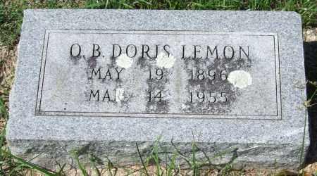 LEMON, O. B. DORIS - Garland County, Arkansas   O. B. DORIS LEMON - Arkansas Gravestone Photos