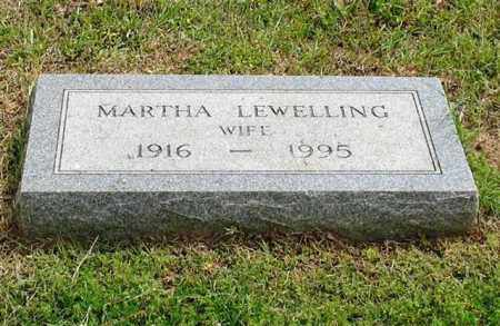 LEWELLING, MARTHA - Garland County, Arkansas | MARTHA LEWELLING - Arkansas Gravestone Photos
