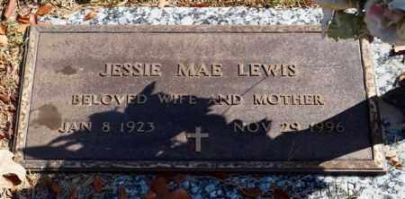LEWIS, JESSIE MAE - Garland County, Arkansas   JESSIE MAE LEWIS - Arkansas Gravestone Photos
