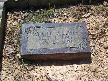 LEWIS, MYRTLE M. - Garland County, Arkansas | MYRTLE M. LEWIS - Arkansas Gravestone Photos