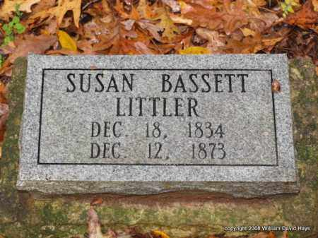 LITTLER, SUSAN - Garland County, Arkansas | SUSAN LITTLER - Arkansas Gravestone Photos