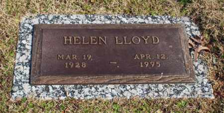 LLOYD, HELEN - Garland County, Arkansas   HELEN LLOYD - Arkansas Gravestone Photos