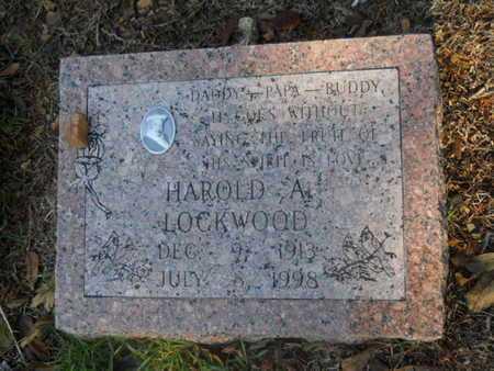 LOCKWOOD, HAROLD A - Garland County, Arkansas | HAROLD A LOCKWOOD - Arkansas Gravestone Photos