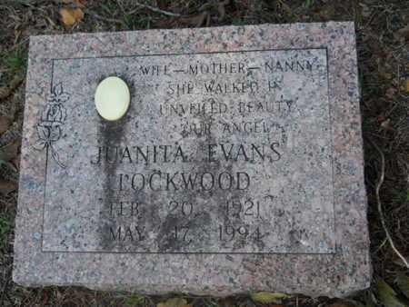 LOCKWOOD, JUANITA - Garland County, Arkansas   JUANITA LOCKWOOD - Arkansas Gravestone Photos