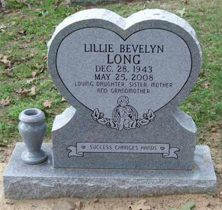 LONG, LILLIE BEVELYN - Garland County, Arkansas | LILLIE BEVELYN LONG - Arkansas Gravestone Photos