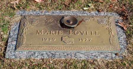 LOVELL, MARIE - Garland County, Arkansas | MARIE LOVELL - Arkansas Gravestone Photos