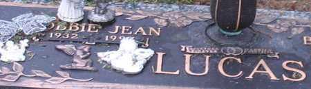 LUCAS, BOBBIE JEAN (CLOSE UP) - Garland County, Arkansas | BOBBIE JEAN (CLOSE UP) LUCAS - Arkansas Gravestone Photos