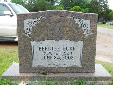 LUKE, BERNICE - Garland County, Arkansas | BERNICE LUKE - Arkansas Gravestone Photos