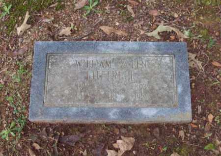 LUTTRELL, WILLIAM  ALLEN - Garland County, Arkansas | WILLIAM  ALLEN LUTTRELL - Arkansas Gravestone Photos