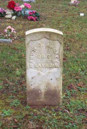 MACKEY (VETERAN UNION), ANDREW J - Garland County, Arkansas | ANDREW J MACKEY (VETERAN UNION) - Arkansas Gravestone Photos