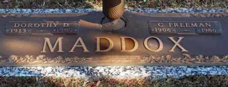 JACKSON MADDOX, DOROTHY D - Garland County, Arkansas | DOROTHY D JACKSON MADDOX - Arkansas Gravestone Photos