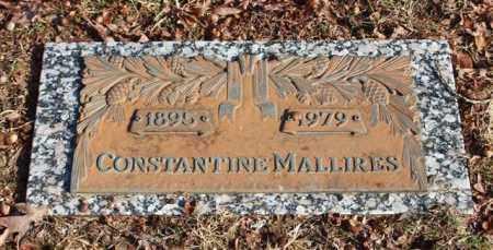 MALLIRES, CONSTANTINE - Garland County, Arkansas   CONSTANTINE MALLIRES - Arkansas Gravestone Photos