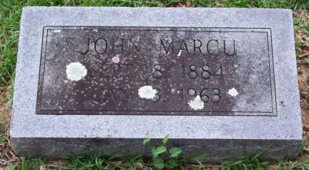 MARCU, JOHN - Garland County, Arkansas | JOHN MARCU - Arkansas Gravestone Photos