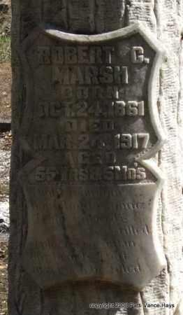 MARSH, ROBERT G. (CLOSE UP) - Garland County, Arkansas | ROBERT G. (CLOSE UP) MARSH - Arkansas Gravestone Photos