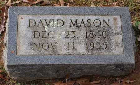 MASON, DAVID - Garland County, Arkansas   DAVID MASON - Arkansas Gravestone Photos