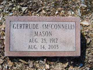 MASON, GERTRUDE (MCCONNELL) - Garland County, Arkansas | GERTRUDE (MCCONNELL) MASON - Arkansas Gravestone Photos