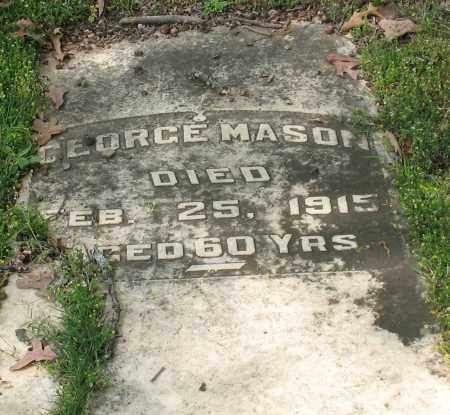 MASON, GEORGE - Garland County, Arkansas | GEORGE MASON - Arkansas Gravestone Photos