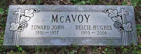 MCAVOY, EDWARD JOHN - Garland County, Arkansas | EDWARD JOHN MCAVOY - Arkansas Gravestone Photos
