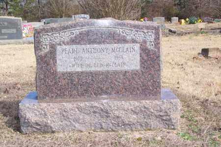 MCCLAIN, PEARL ANTHONY - Garland County, Arkansas   PEARL ANTHONY MCCLAIN - Arkansas Gravestone Photos