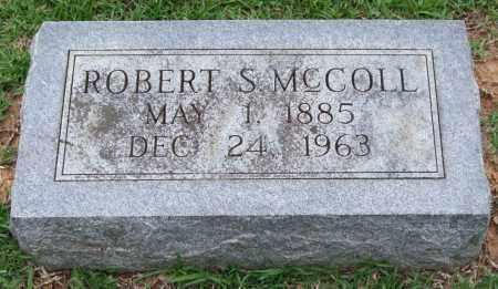 MCCOLL, ROBERT S. - Garland County, Arkansas   ROBERT S. MCCOLL - Arkansas Gravestone Photos