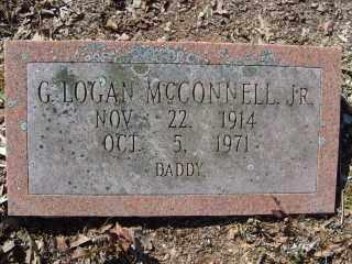 MCCONNELL, JR., G. LOGAN - Garland County, Arkansas   G. LOGAN MCCONNELL, JR. - Arkansas Gravestone Photos