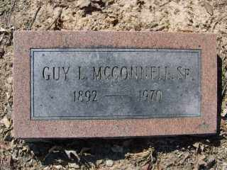 MCCONNELL, SR., GUY L. - Garland County, Arkansas | GUY L. MCCONNELL, SR. - Arkansas Gravestone Photos
