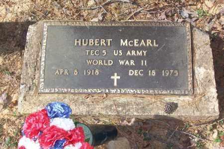 MCEARL (VETERAN WWII), HUBERT - Garland County, Arkansas | HUBERT MCEARL (VETERAN WWII) - Arkansas Gravestone Photos