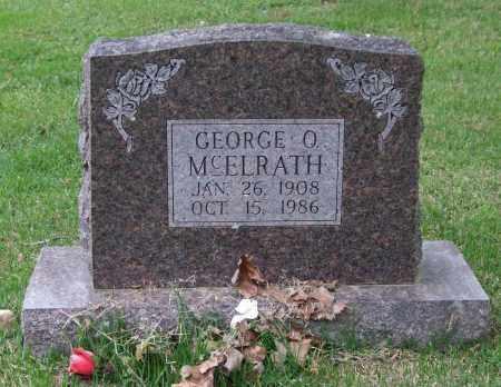 MCELRATH, GEORGE O. - Garland County, Arkansas | GEORGE O. MCELRATH - Arkansas Gravestone Photos