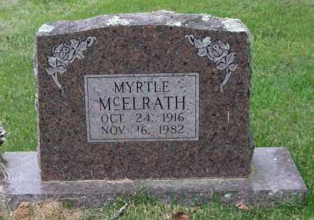 MCELRATH, MYRTLE - Garland County, Arkansas | MYRTLE MCELRATH - Arkansas Gravestone Photos