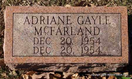MCFARLAND, ADRIANE GAYLE - Garland County, Arkansas | ADRIANE GAYLE MCFARLAND - Arkansas Gravestone Photos