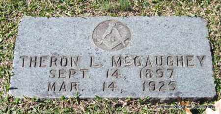 MCGAUGHEY, THERON L. - Garland County, Arkansas | THERON L. MCGAUGHEY - Arkansas Gravestone Photos