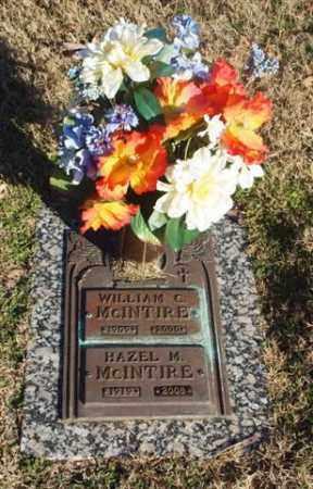 MCINTIRE, WILLIAM C. - Garland County, Arkansas | WILLIAM C. MCINTIRE - Arkansas Gravestone Photos