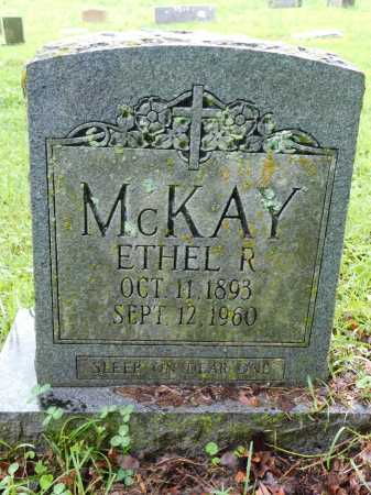 MCKAY, ETHEL R. - Garland County, Arkansas | ETHEL R. MCKAY - Arkansas Gravestone Photos
