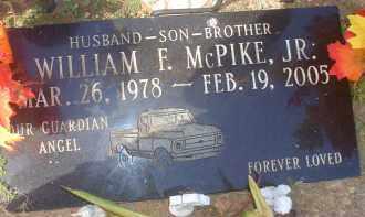 MCPIKE, WILLIAM F.,  JR. - Garland County, Arkansas | WILLIAM F.,  JR. MCPIKE - Arkansas Gravestone Photos