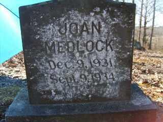 MEDLOCK, JOAN - Garland County, Arkansas | JOAN MEDLOCK - Arkansas Gravestone Photos