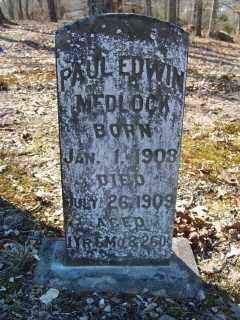 MEDLOCK, PAUL EDWIN - Garland County, Arkansas | PAUL EDWIN MEDLOCK - Arkansas Gravestone Photos