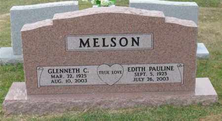 MELSON, GLENNETH C. - Garland County, Arkansas | GLENNETH C. MELSON - Arkansas Gravestone Photos