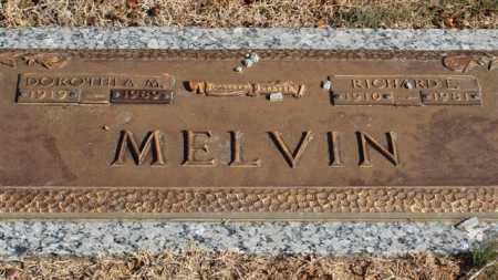 MELVIN, RICHARD E - Garland County, Arkansas | RICHARD E MELVIN - Arkansas Gravestone Photos