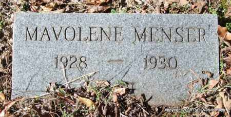 MENSER, MAVOLENE - Garland County, Arkansas | MAVOLENE MENSER - Arkansas Gravestone Photos