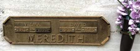 MEREDITH, DAVID - Garland County, Arkansas | DAVID MEREDITH - Arkansas Gravestone Photos