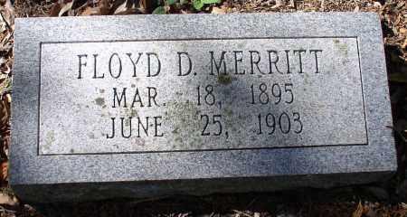 MERRITT, FLOYD D. - Garland County, Arkansas | FLOYD D. MERRITT - Arkansas Gravestone Photos