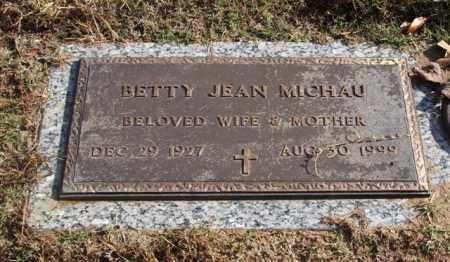 GIBSON MICHAU, BETTY JEAN - Garland County, Arkansas | BETTY JEAN GIBSON MICHAU - Arkansas Gravestone Photos