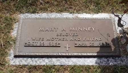 MINNEY, MARY A. - Garland County, Arkansas   MARY A. MINNEY - Arkansas Gravestone Photos